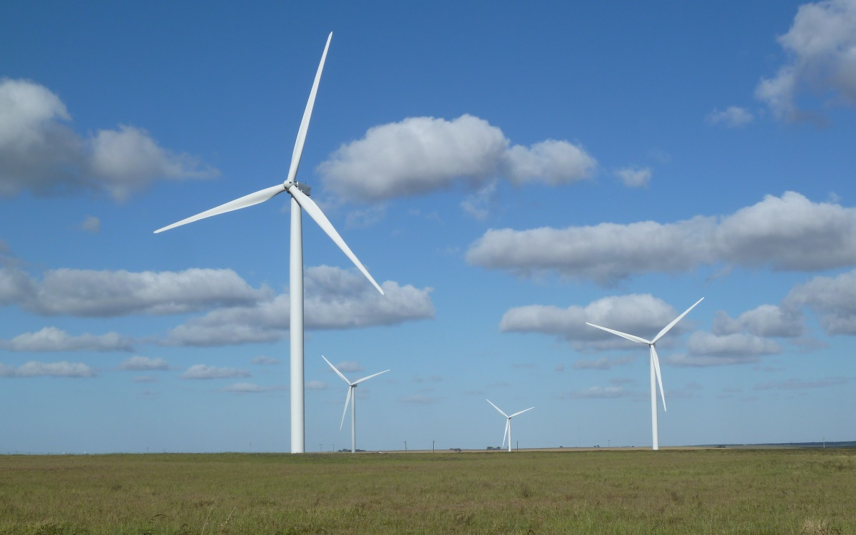 Large Scale Wind Farm